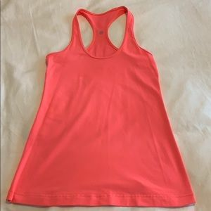 lululemon electric coral size 6